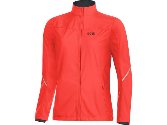 GORE WEAR R3 Chaqueta Partial Gore Windstopper Mujer, lumi orange
